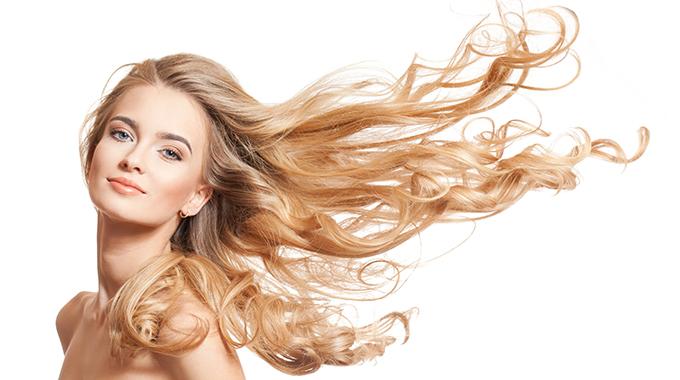 Elektrisch aufgeladene Haare