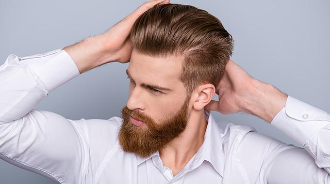 Klassische Männerfrisuren Männliche Haare Im Retro Stil