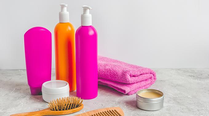 Kosmetik für matte Haare