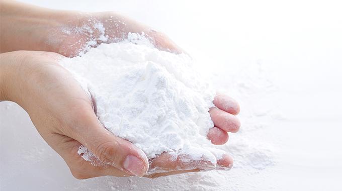 Haare waschen mit Mehl