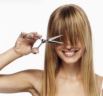 Haare schneiden lassen