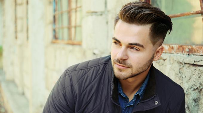 Slick Back Frisur Für Tapfere Männer Halier Blog
