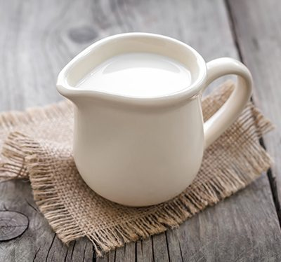Haarpflege mit Milch