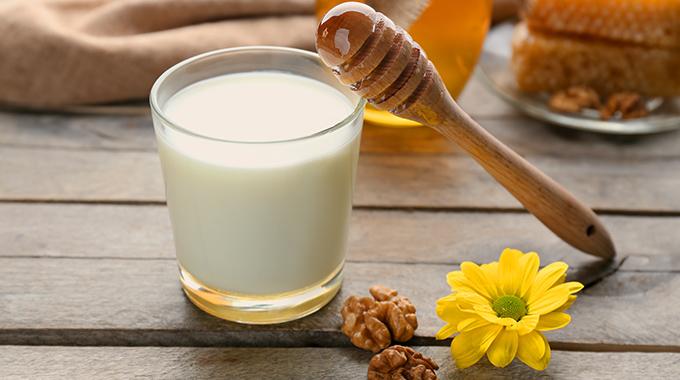Milchhaarpflege