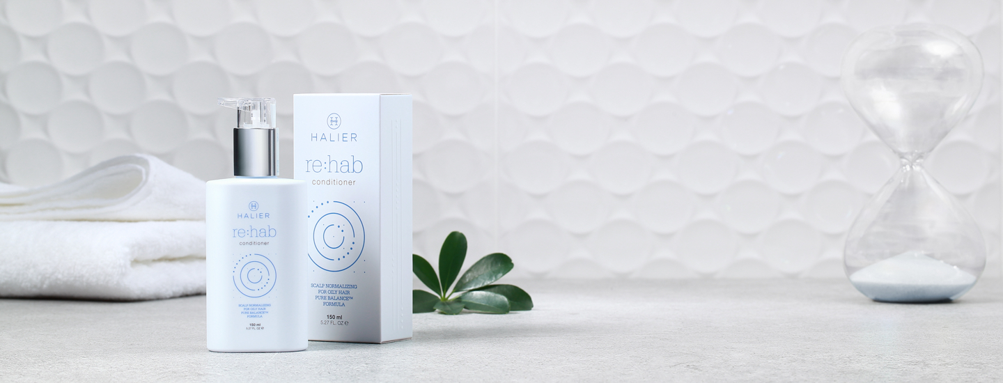 Der Conditioner Re:hab mit Pure Balance™-Formel